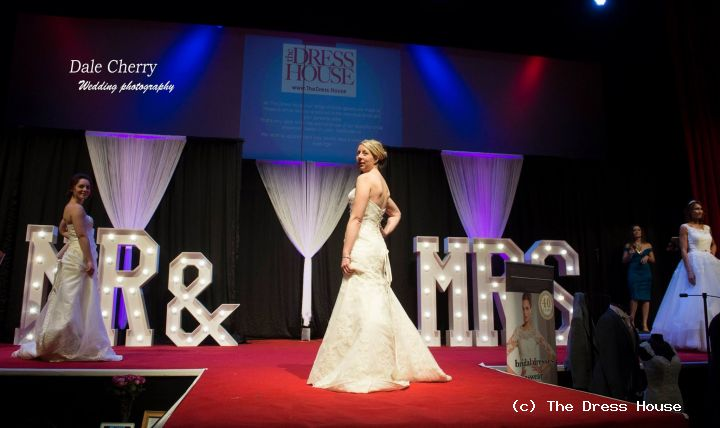 Hertfordshire Wedding Fair Catwalk
