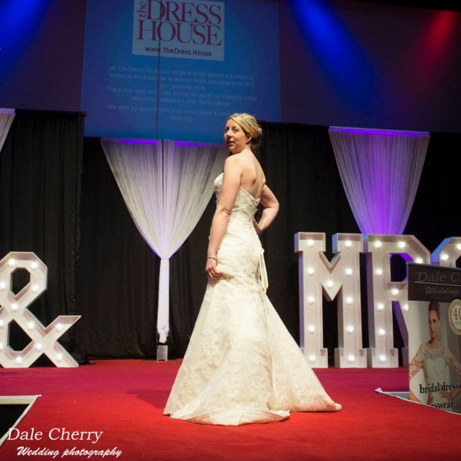 The dress house luton -  Laura Wears Our Made To Measure Delancey Mermaid Dress At St Albans 2017