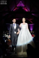 Carleene wears our made-to-measure Steinway ballgown at Knebworth Barns 2016 (Photo The Dress House)