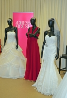 The Dress House stand at Stockwood Discovery Centre wedding fair