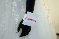 #TDHdress .Our Steinway A line wedding dress