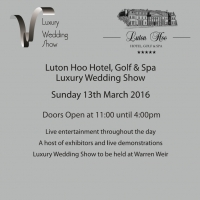 Luxury Wedding Fair Sun 13th March