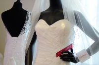 Delencey Strapless Gown at Hatfield Ramada Wedding Fair
