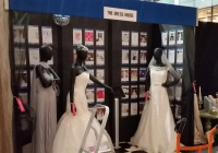 Late night at MK Central, setting up for Wedding Fair Weekend Fri 5th to Sun 7th Feb