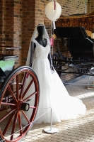 Stunning location for our dress at Stockwood Discovery Center