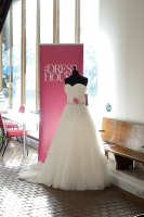 Our Wooster wedding dress makes it Debut at Stockwood Discovery Center Wedding Fair