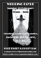 Chesfield Downs Wedding Fair Sunday 21st February