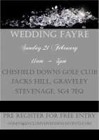 Chestfield Downs Wedding Fair Sunday 21st February