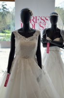 Ludlow and Soho wedding dresses at Brocket Hall