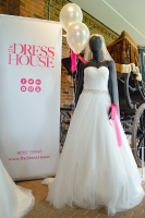 Bleecker Wedding Dress at Stockwood Discovery Centre Wedding Evening