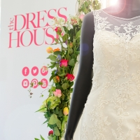 Rockerfeller Wedding Dress at Hexton Manor Wedding Fair